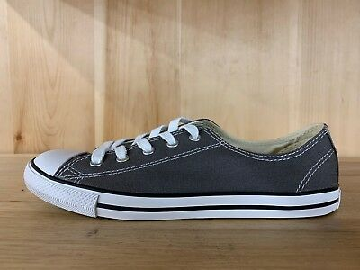 54d8de31fbae0d Converse Chuck Taylor All Star Ct Dainty Ox Charcoal Womens Sz 7 532353F