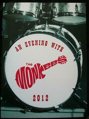 Micky Dolenz Direct 2U! The Monkees 2012 Official Tour Book Signed 2U By Micky!