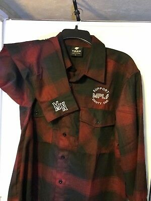 Hells Angels MPLS- Subdued Buffalo Flannel
