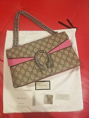 Authentic Pre-owned Gucci Dionysus small GG shoulder bag