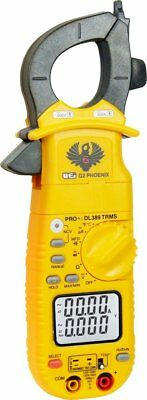 UEi DL389 G2 Phoenix Pro Plus True-RMS AC Clamp Meter with Test Leads