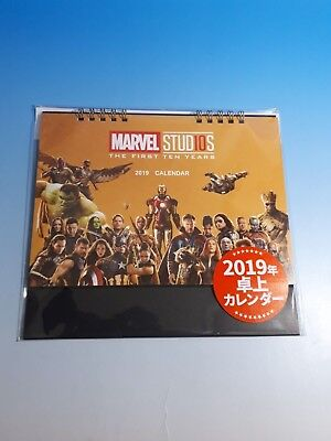 2019 desk calendar MARVEL 10th  CL-352