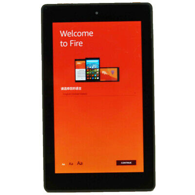 DEFECTIVE AMAZON FIRE (5th Generation) Wi-Fi Tablet - Black