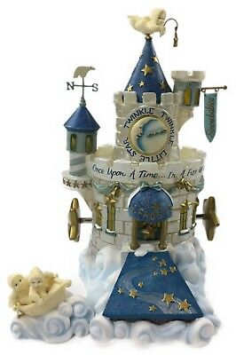 Department 56 Storybook Village Frosty Frolic Castle Fairy Tale Collection