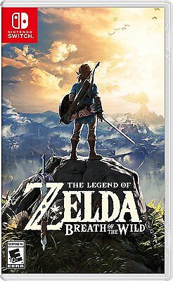 Legend of Zelda: Breath of the Wild (Japanese Ver ) for Nintendo Switch NS