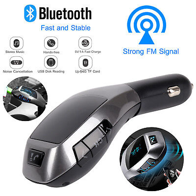 Wireless Bluetooth Car MP3 Player FM Transmitter Radio LCD SD USB Charger