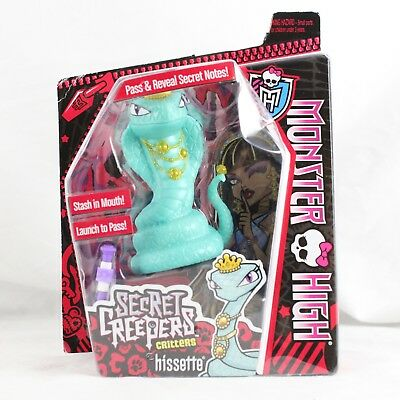 Monster High Secret Creepers Critters Hissette NEW DAMAGED BOX