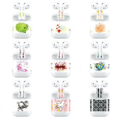 MagiDeal Creative Skin Decal Protective Cover Wrap for Apple AirPods Sticker