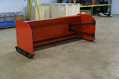 8 Ft Snow Pusher/Skid-loader-Compact Tractor-Bobcat-Free Shipping