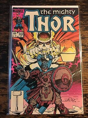 The Mighty Thor #342 (Marvel) Free Combine Shipping