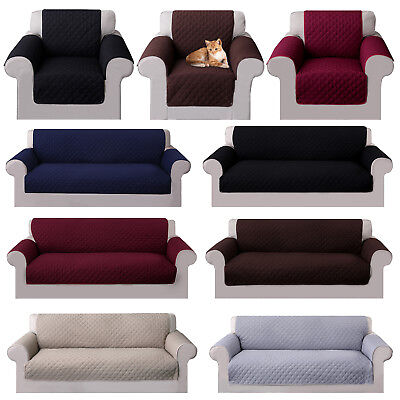 New Reversible Sofa Cover Couch Cushion Slipcover Furniture Cover for Pets Kids