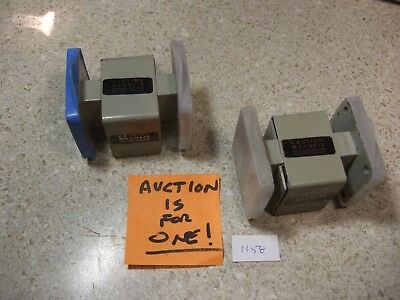 3DBM 905WI90 Waveguide Isolator 8.5-9.6 GHz Used