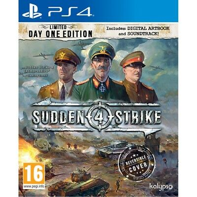 Sudden Strike 4 Limited Day One PS4
