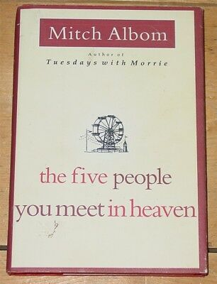 The Five People You Meet in Heaven  Mitch Albom  2003  Hardcover