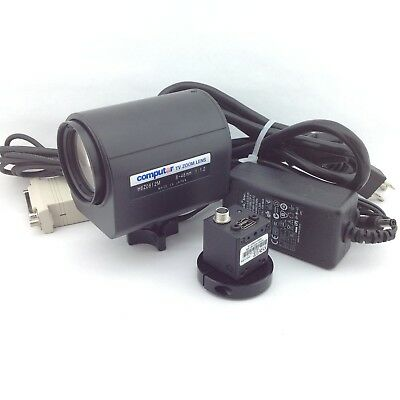 Computar HGZ0812M TV Zoom CCTV Camera 1:1.2 8-48mm w/ IEEE-1394 Digital camera