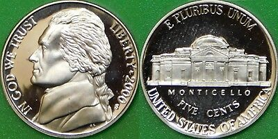 2000 US (S Mark) Silver Roosevelt Dime Graded as Proof From Original Set