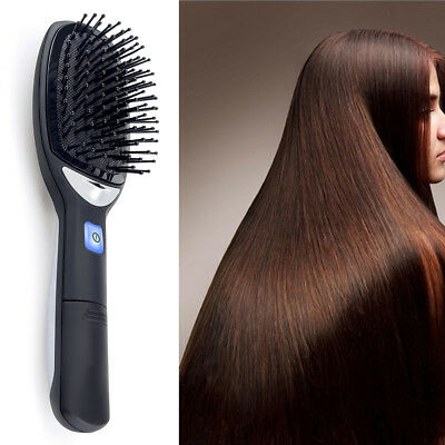 Anti-Static Electric Ionic Hairbrush Takeout Hair Brush Comb Massage Durable