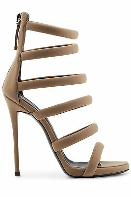 1965afc7d523f4 Giuseppe Zanotti Womens Alien Open Toe Ankle Wrap Classic Pumps
