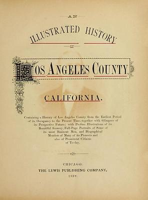 American History Genealogy - 300 Rare Books On Dvd - California State Records La