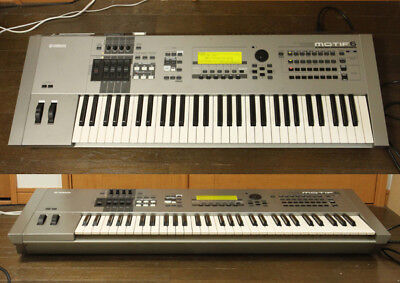 Yamaha MOTIF6 Keyboard Synthesizer Used Operation Confirmed