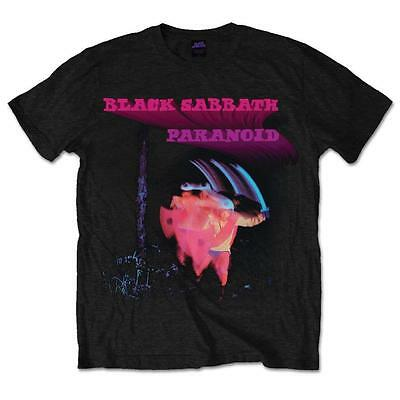 Official Licensed - Black Sabbath - Paranoid Motion Trails T Shirt Metal Ozzy