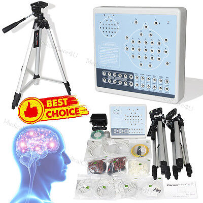 Digital Brain Electric Activity Mapping 24 Channel EEG Machine+Tripods+Software