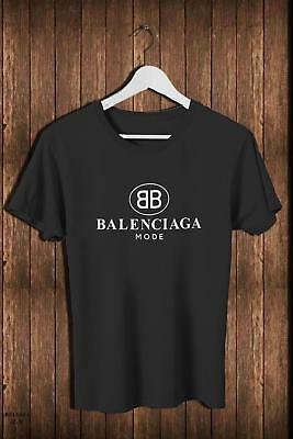 New 1Balenciaga4061 Mode Fashion Brand Logo Casual Tee Men's T-Shirt Ready M-3Xl