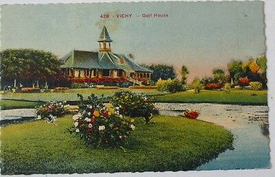 03 Vichy Golf House  Carte Postale