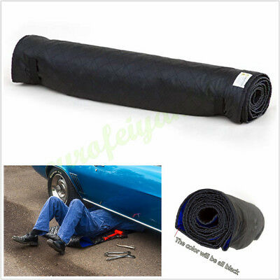 1*Black 70x150cm Creeper Pad Cushion For Automotive Repair Working On The Ground