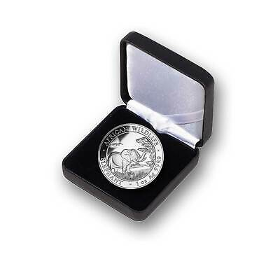 1 oz Somalia Elephant 2019 Silver Coin African Wildlife - in Gift Box