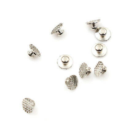 10pcs Dental Supplies Orthodontic Ortho Lingual Buttons Bondable Round Base FO
