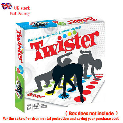 2018 Twister Game Funny Kids Family Body Twister Moves Mat Board Game Sport Toy
