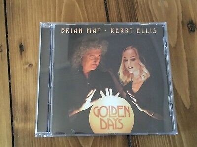 Brian May Kerry Ellis Golden Days CD 13 Track Album