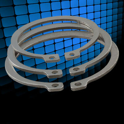 External Retaining Ring Circlip 304 A2 Stainless Steel Shaft Diameters 3mm-28mm