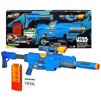 Nerf Star Wars Rogue One Captain Cassian Andor Deluxe Eadu Blaster Exclusive ...
