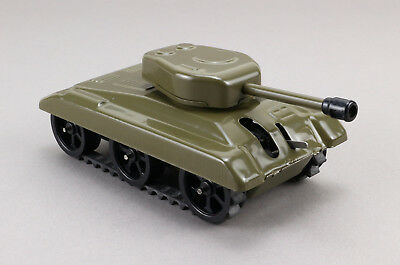 IGRA Tank Blech Panzer Uhrwerk 60's Vintage Wind Up Tin Toy