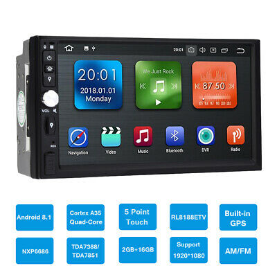 7in Car Multimedia MP5 Player Bluetooth WIFI 2G+16GB USB SD 2DIN for Android8.1