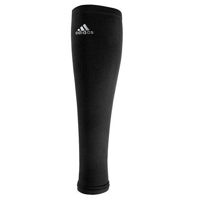 adidas TechFit Calf Sleeve 1pp Protection Compression Black Leg CoolMax