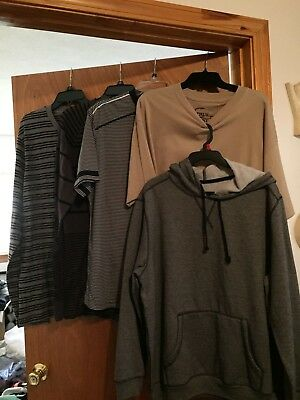 Brand New Lot Of 5 Men's Size X-Large Tops