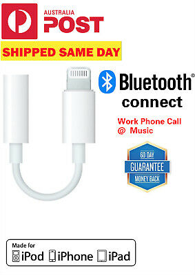 Apple Lightning Bluetooth 3.5MM Jack Headphone Adapter For iPhone 7 8 X Plus MAX