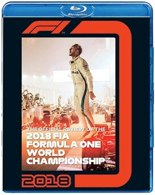 FORMULA ONE 2018 - F1 Season Review - LEWIS HAMILTON - Grand Prix - Blu Ray DVD