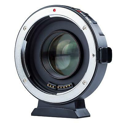 Viltrox EF-M2 Auto Focus Lens Adapter 0.71x Speed Booster Canon EF Lens to M4/3