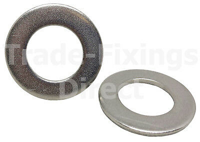 M10 (10mm) Form A HEAVY DUTY STAINLESS STEEL WASHERS