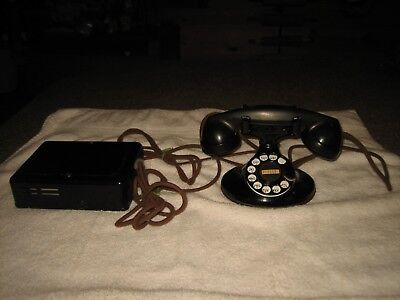 Vtg Western Electric Bell System F1 Refurbished Control Box Rotary Telephone