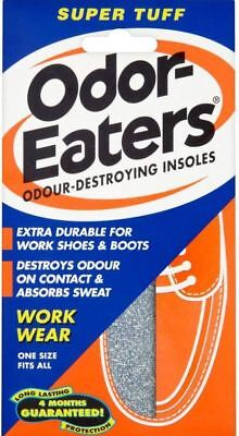 Odor Eaters Super Tuff Shoe Odour Washable Work Wear Insoles - 1 Pair