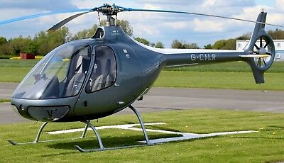 Helicopter Aviation Trial Lesson 1 Hour Guimbal Cabri G2 Helicopter 🚁