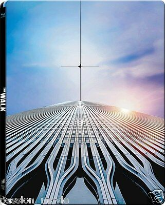 The Walk 3D - Limited Edition Steelbook (Blu-ray 2D/3D) *BRAND NEW*