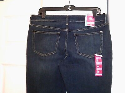 WOMEN S DENIM JEANS-OLD Navy-Cotton Spandex Size Midrise Skinny-Size ... ba0c9b16c
