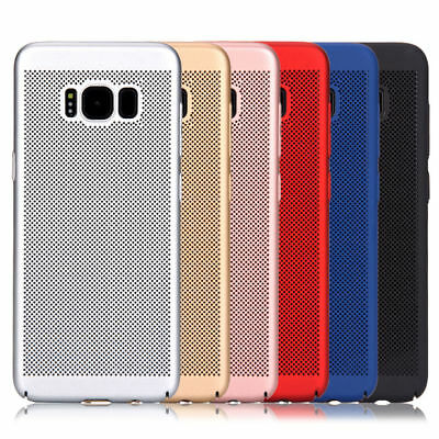 For Samsung Galaxy S7 Edge/S8 Hard Case Thin Shockproof Hybrid Phone Cover Skin