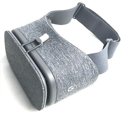 Google Daydream View VR Headset ONLY Charcoal Gray Excellent Shape Pixel Phone